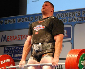 Hall of Fame Powerlifter Brad Gillingham