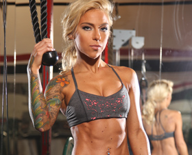 WBFF Pro and Fit Mom Carissa Johnson