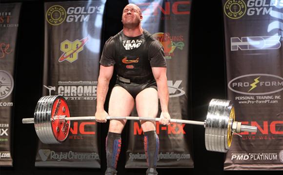 Powerlifter Bryan Dermody