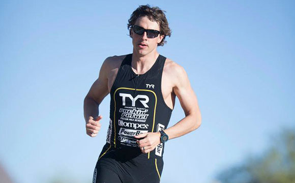 Team myHMB athlete and Pro Triathlete TJ Tollakson