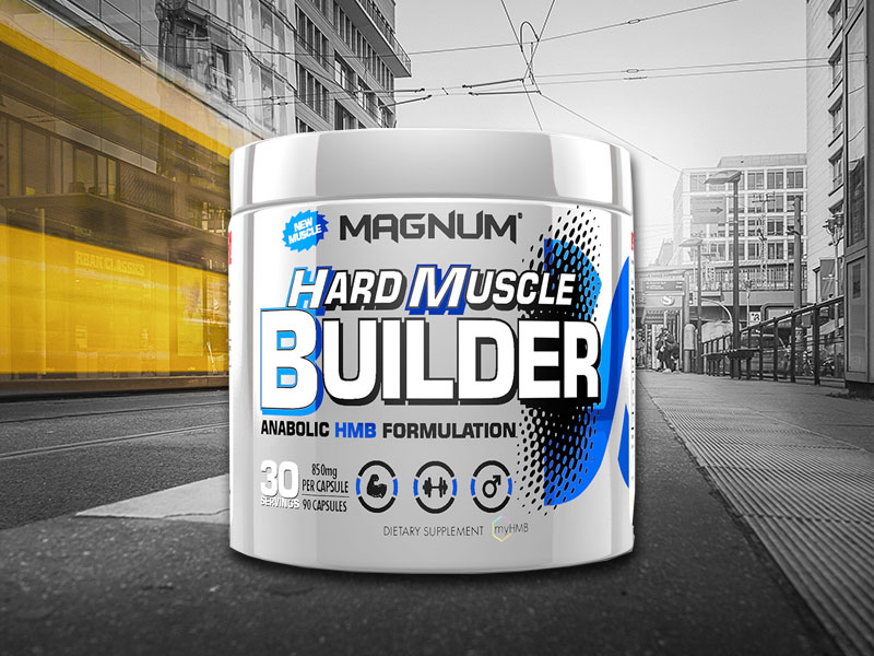 Magnum Hard Muscle Builder | Sports Nutrition Supplements
