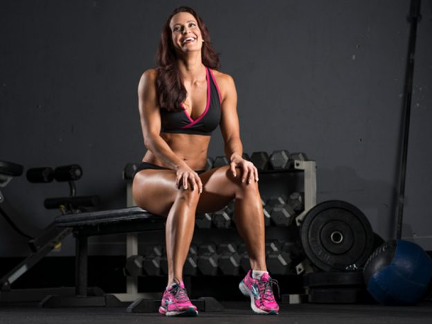 IFBB Pro/Bodybuilder Erin Stern during photo shoot in Colorado