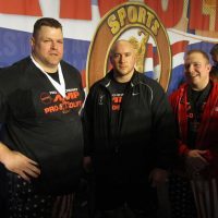 Hall of Fame Powerlifter Brad Gillingham with World Games Powerlifter Nick Weite at the Arnold Sports Festival