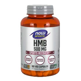 NOW Sports HMB 500mg Veg Capsules
