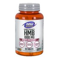 Muscle health supplement Now Sports HMB Double Strength featuring the clinically proven ingredient myHMB