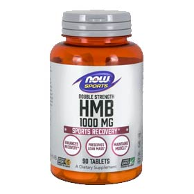NOW Sports HMB, Double Strength 1000mg Tablets