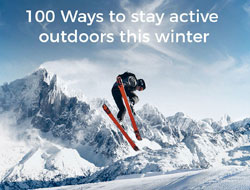 100 Ways to Get Moving Outdoors This Winter