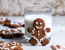 Paleo Healthy Gingerbread Cookies (Gluten Free)