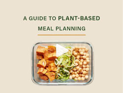 Your guide to healthy, easy meal prep on a plant-based diet