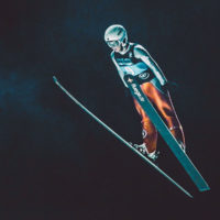 Ski jumper flying in the air / myHMB blog 4 Exercises to Build Explosive Power by Spenser Remick